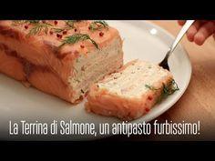 LA TERRINA DI SALMONE, un ANTIPASTO SEMPLICE da FARE e FURBISSIMO! - YouTube
