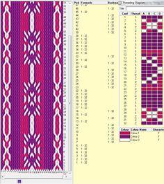 32 tarjetas, 3 colores, repite dibujo cada 16 movimientos // sed_139༺❁