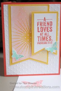 Kinda Eclectic, Stampin' UP!, God Bless, www.stampinkreations.com