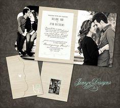 Hochzeitskarte Weding Invitation Pinterest