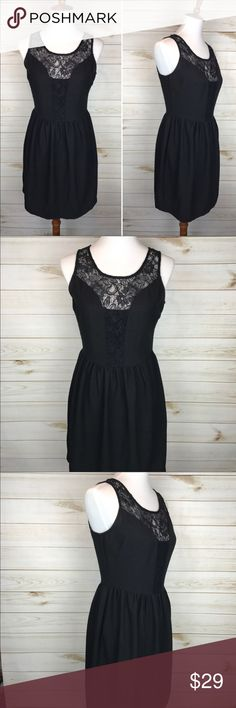 Little Black Lace Dress Great Used Condition - Only Worn Once!  - Perfect Little Black Dress Dresses Mini