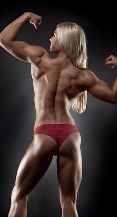 Lifting weights and body building. We all know a nice muscle-toned body is better than a skinny one with no curves.: