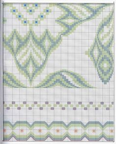 This Pin was discovered by Sii Broderie Bargello, Bargello Needlepoint, Bargello Quilts, Needlepoint Patterns, Needlepoint Canvases, Cross Stitch Patterns, Hardanger Embroidery, Embroidery Stitches, Embroidery Patterns