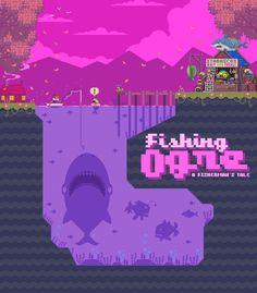 "PixelProspector en Twitter: """"Fishing Ogre - Pixel Art Mockup"" by @armyoftrolls http://t.co/IzN7K9X7jN http://t.co/pYahCgL9pB"""