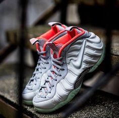 e3c9fecd4c9 Nike Air Foamposite Pro PRM Pure Platinum 616750 003 MEN Size 9