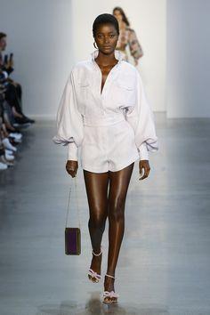 Model: Oumie Jammeh Designer: Zimmermann (spring 2019 ready-to-wear) Where: New York Fashion Week Fashion Week, New York Fashion, Trendy Fashion, Runway Fashion, High Fashion, Luxury Fashion, Fashion Trends, Australian Fashion Designers, New Yorker Mode