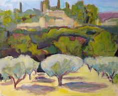 Patricia MacDonald: My Painting Life: Painting in Oppede-le-Vieux