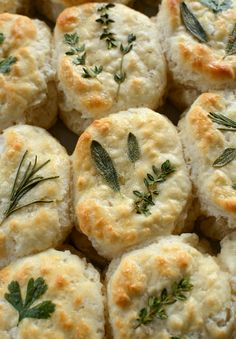 https://homeiswheretheboatis.net/2014/08/22/parsley-sage-rosemary-and-thyme-herb-laminated-biscuits/ Herb topped biscuits