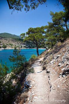Path in Paradise #travelphotography #LandscapePhotography #Thassos #Aliki #Aegean #Holidays
