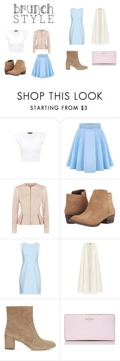 """Brunch Style"" by alisha11marie ❤ liked on Polyvore featuring WithChic, BOSS Hugo Boss, Jessica Simpson, Diane Von Furstenberg, La Mania, Rebecca Minkoff and Kate Spade"