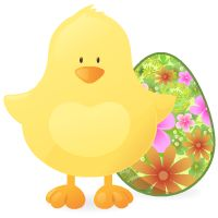 Holliday - Easter chick