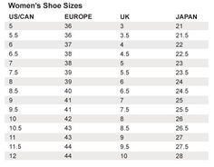 Carter's shoes size chart/ clothes chart | Baboo | Pinterest ...