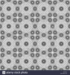 Black and white ethnic patterns. Geometric and aztec decor elements Stock Photo, Royalty Free Image: 111788125 - Alamy