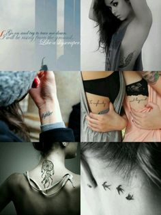 Tattoos I want.