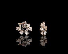 Love You Always Sparkling Earrings - $30 http://www.muwae.com/shop/love-you-always-sparkling-earrings