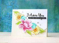 Altenew Garden Treasures card by Laura Bassen