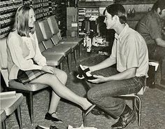 Shoe stores with salesmen.Belk Department Store Charlotte NCI remember love belk still do