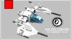 Wolven Fighter #LEGO #StarFighter #MOC