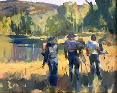 Kevin Macpherson Painters, Outdoor, Portraits, People, Art, Inspiration, Outdoors, Art Background, Biblical Inspiration