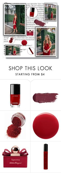 """And we'll never be royals, it don't run in our blood"" by novascotias4ever ❤ liked on Polyvore featuring beauty, Balmain, Chanel, Oribe, Salvatore Ferragamo, NYX, red, polyvoreeditorial, nsfashion and NSBeauty"