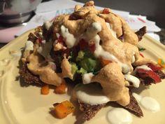 Raw Vegan Nachos Vegan Nachos, Raw Vegan, Vegan Recipes, Tacos, Mexican, Ethnic Recipes, Food, Vegetarian Nachos, Meals