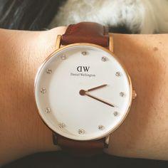 Ma montre préférée !  #danielwellington #watch