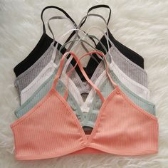 Basic Ribbed Bralette