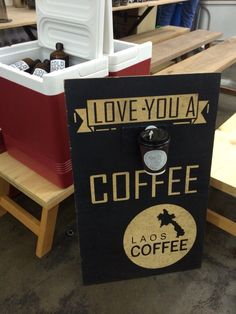 #halolao @ apw bangsar mari market 19/4/2015  #coffee #laoscoffee #halolaocoffee #loa #delatalaocoffee