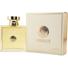 Pamper yourself with Versace Signature from Gianni VersaceWomen's fragrance features hints of Moroccan cedar wood, azalea, jasmine and moreWomen's scent is offered in 3.4-ounce eau de parfum spray
