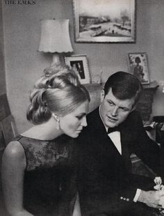 Ted & Joan Kennedy