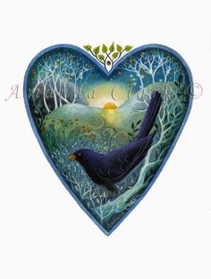Earth Angels Art. Art and Illustrations by Amanda Clark: New 'Heart' prints.