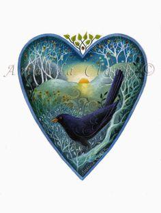 amanda clark artist | The First Song' by Amanda Clark. (c)