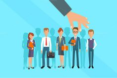 Human Resources concept by VectorMarket on Creative Market