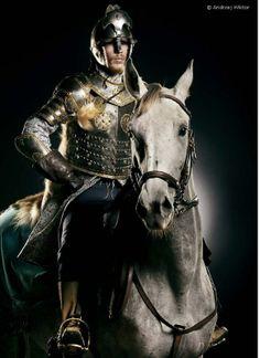 Polish hussar.