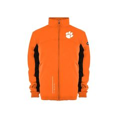 Men's Franchise Club Clemson Tigers Alpine Reversible Jacket, Size: Medium, Orange