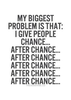 After chance.... After chance.