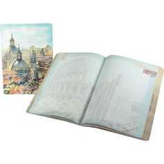 Rome Italy Painting Punch Studio Travel Soft Cover Journal
