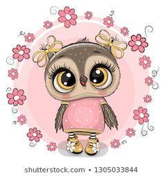Cute Owl Cartoon, Cartoon Clip, Owl Clip Art, Owl Art, Environmental Crafts, Owl Wallpaper, Owl Vector, Vector Art, Owl Pictures