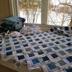 Mias Landliv: How to make a 'Mias Landliv-quilt'... FAQ's