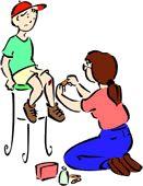 Primeiro Socorros Domesticos: Como retirar gaze presa na ferida