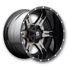 Fuel Wheels D257-Driller-2PC 22x12 Black Milled Low Offset (Fuel-Rims-D257-Driller-2PC-22-12BMILL.s)