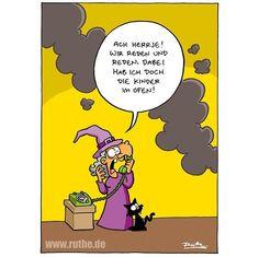 #ruthe #cartoon #walpurgisnacht by ruthe_offiziell