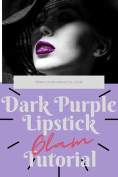 Doing a makeup look might not end up the way you want it to be specially if you are trying some new looks. Specifically with bold colors such as a dark purple lipstick. But don't worry because in this article, we will give you ideas and tips on how to glam up with dark purple lipstick. Experiment with us and try to glam up with a dark purple lipstick! Dark Purple Lipstick, Lip Hydration, Lip Care, Bold Colors, Experiment, New Look, Makeup Looks, Tips, Beauty