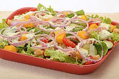 salada completa colorida