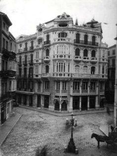 Antigua imagen MÁLAGA Malaga, Madrid, Louvre, Street View, Country, Architecture, City, Building, Travel