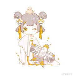 Chibi Kawaii, Cute Anime Chibi, Kawaii Anime Girl, Anime Demon, Manga Anime, Anime Art, Kpop Drawings, Cute Drawings, Kid Character