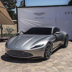 The new Aston Martin DB10. Futuristic