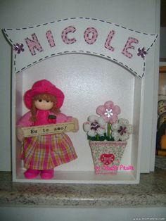 Boneca rosa!!!