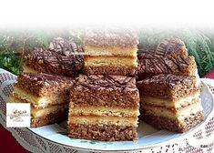 Székely szelet, ez a süti olyan finom, hogy egyszerűen nem lehet megunni! - Egyszerű Gyors Receptek Cookie Recipes, Dessert Recipes, Torte Cake, Tiramisu, Banana Bread, French Toast, Muffins, Food And Drink, Sweets