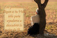 No permitas que las dificultades y problemas te agobien, ten la certeza que siempre eres superior a ellos.